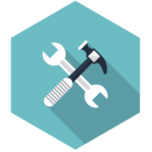 Hammer-and-Spanner-Hexagon