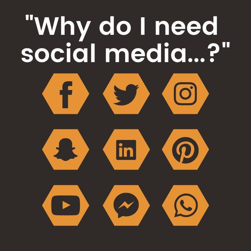 why do I need social media