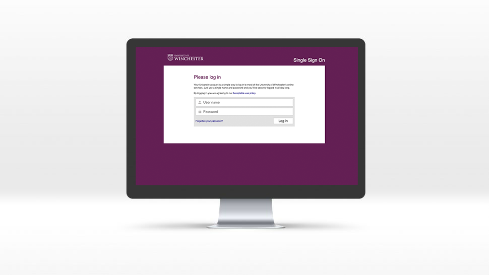 university of winchester intranet
