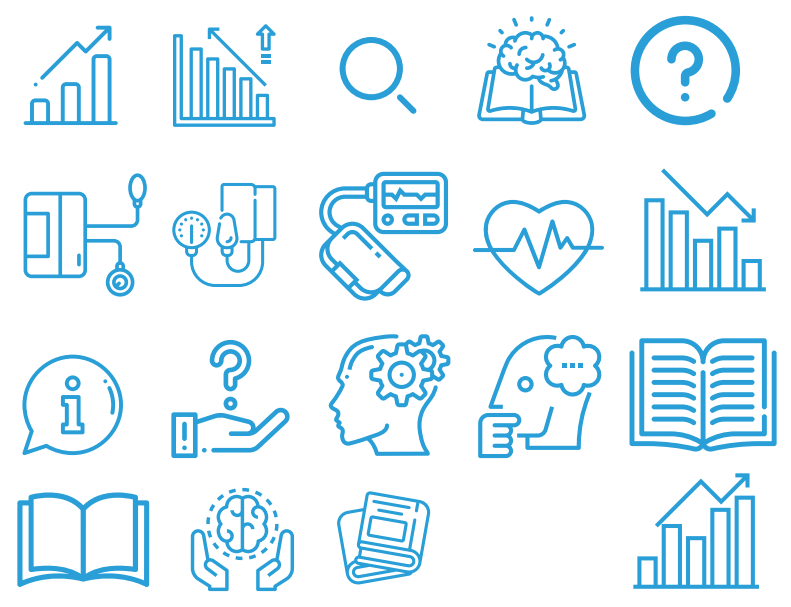 blue icons created for BPUK